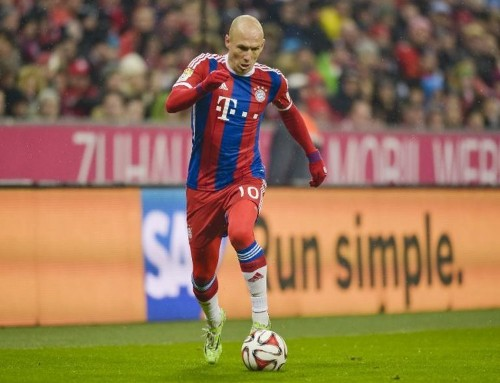 Robben adds to tally in Bayern's birthday win
