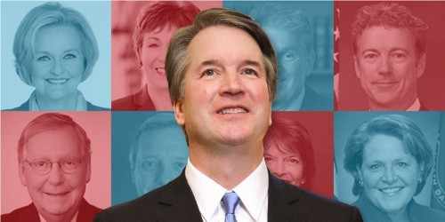 Here's an evolving count of which senators are voting for Brett Kavanaugh