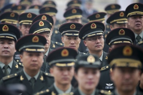 China has all but ended the charade of a peaceful rise