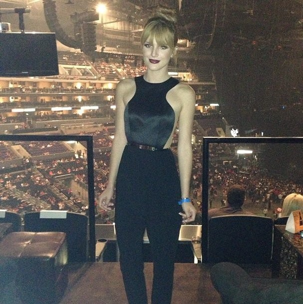 Tons Of Celebs Were Posting Photos From Last Night's Beyoncé Concert In LA