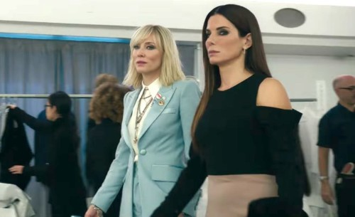 The official 'Ocean's 8' trailer is here and it shows Sandra Bullock trying to pull off an impossible Met Gala heist