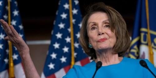 Nancy Pelosi mocks Trump as an 'extremely stable genius'