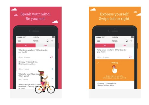 Microsoft has created an iPhone app that's like Tinder for business