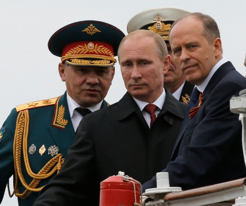 Moscow Accuses The US Of Working On 'Military Scenarios' On Russia's Border