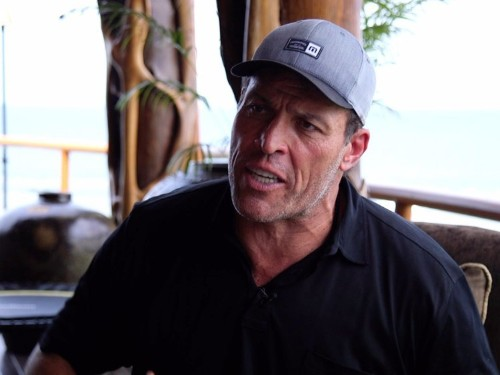Tony Robbins gives every entrepreneur the same two pieces of advice