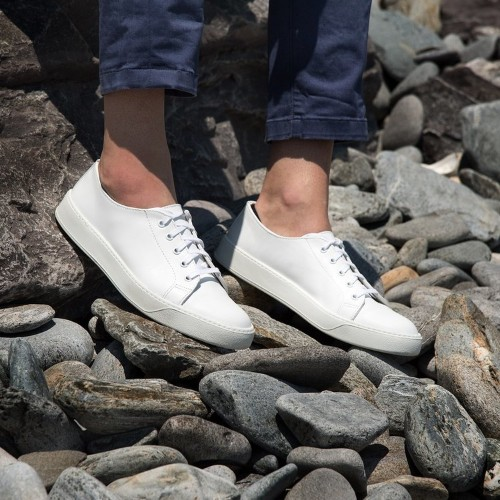 This is the minimalist, made-in-America sneaker you'll want to wear all summer