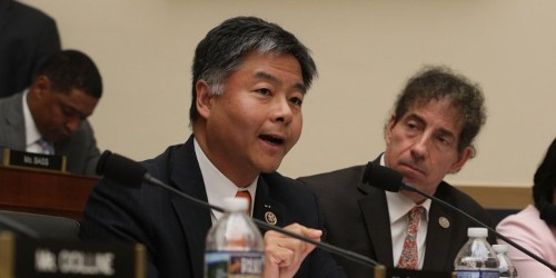 Democratic Rep. Ted Lieu tears into Republican colleagues during Google hearing: 'If you want positive search results, do positive things'
