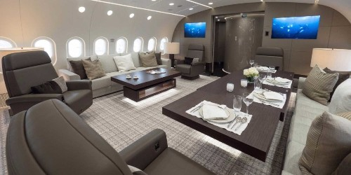 This $300 million Boeing 787 is unlike any private jet you have ever seen