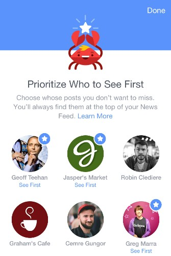 Facebook has a clever new way to make sure you never miss important stuff in your news feed