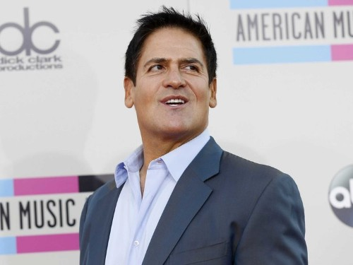Mark Cuban reveals what it was like playing the US president in 'Sharknado 3,' where sharks rain down on the White House