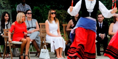 G7 wives took a cultural tour of French region during the summit