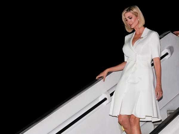 Ivanka Trump showed off her new bob haircut in South America - Business Insider