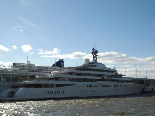 Here's How Much Roman Abramovich Paid To Park His Yacht In NYC