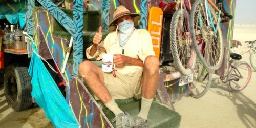 Here's what it's like to bring your parents to Burning Man