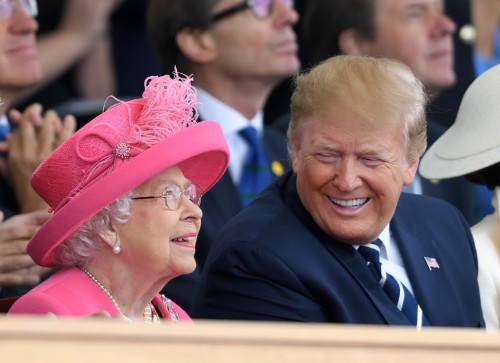 Trump said the Queen 'hadn't had so much fun in 25 years' after visit