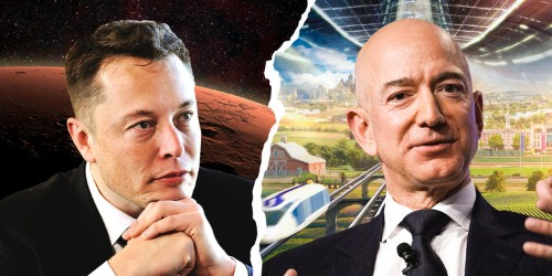 Elon Musk vs. Jeff Bezos: How their space plans are different, similar