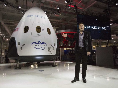 SpaceX Just Unveiled Its Brand-New Capsule For Taking Astronauts To Space