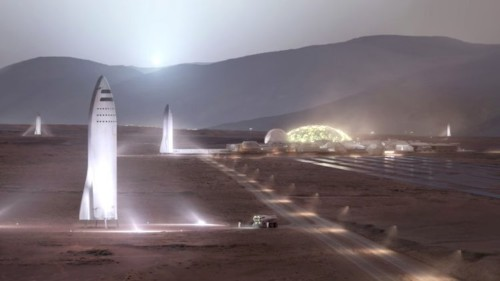 Elon Musk just unveiled a giant tool SpaceX will use to build the biggest and most powerful spaceship in history