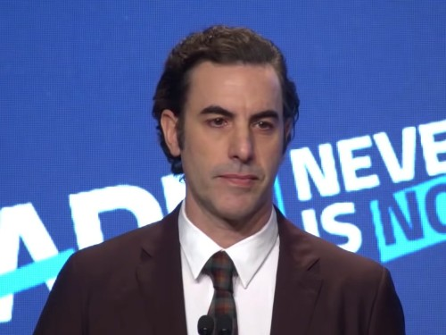 You need to watch every single minute of Sacha Baron Cohen's scintillating attack on internet giants like Facebook