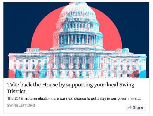 A grassroots movement aiming to help Democrats take back the House is going viral