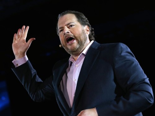 Salesforce's surprise $15.7 billion acquisition of Tableau is a shot at Microsoft and SAP