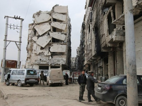 ISIS cuts off crucial government supply line to Syria's largest city