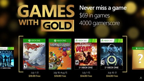 Here are all the free Xbox games coming in July