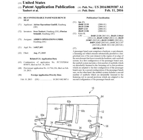 Airbus wants to patent a seat that could revolutionize how airlines sell tickets