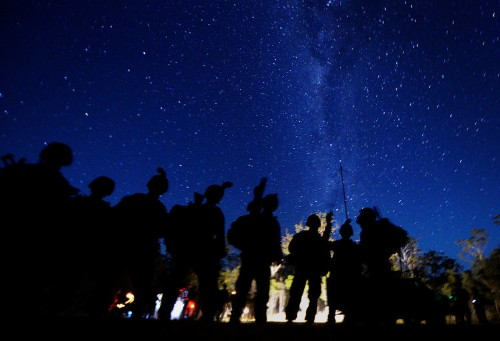 Surreal photos of Marine night operations that look straight out of a video game