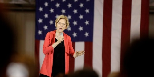 Elizabeth Warren says Trump 'provoked' the Iran crisis and is risking another 'forever war'