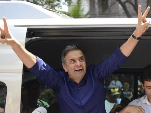 UPSET: Pro-Business Candidate Aecio Neves Makes Runoff In Brazilian Election