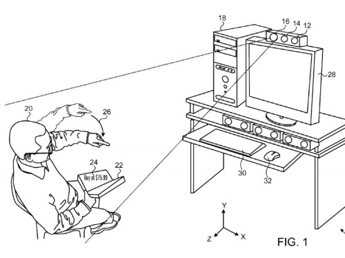 Apple has a new patent for a projector that uses augmented reality