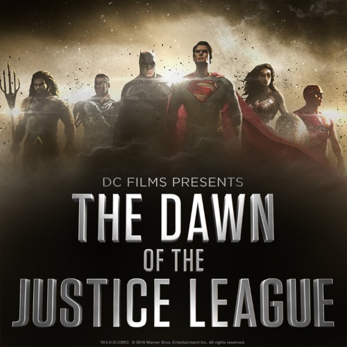 Here's our first look at the fully assembled Justice League from 'Batman v Superman'