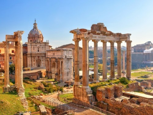 This infographic shows how currency debasement contributed to the fall of Rome