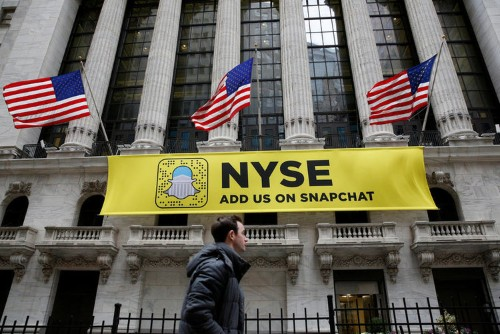 Snap's IPO will price today after the US stock market closes
