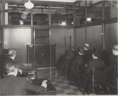 Incredible Images Of Wall Street Trading Before The Bloomberg Terminal