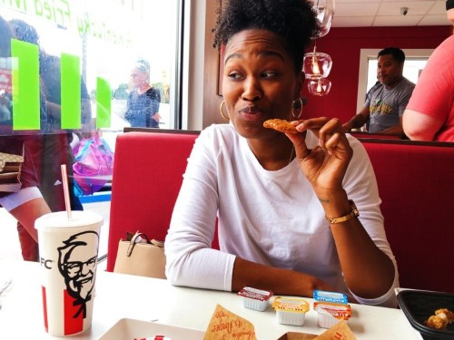 I tasted KFC's new meatless chicken dishes and had some mixed reviews