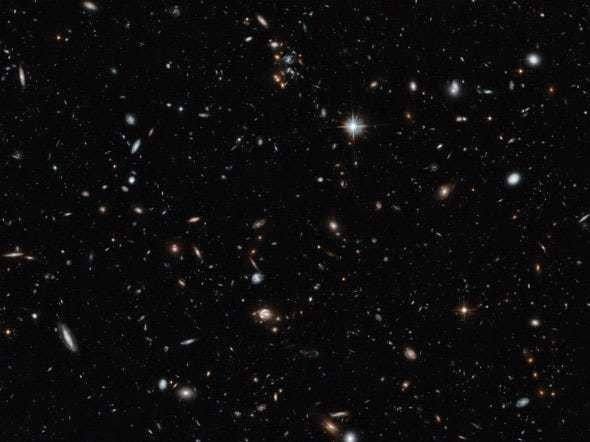 This Hubble image shows thousands of galaxies — and that's only a tiny fraction of the sky - Business Insider