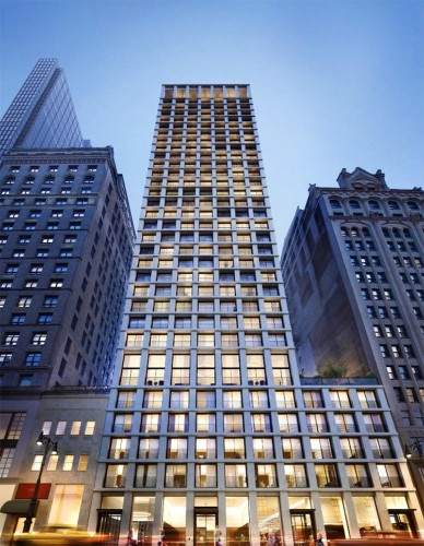 We went inside New York City's latest luxury skyscraper, which is one giant marble block
