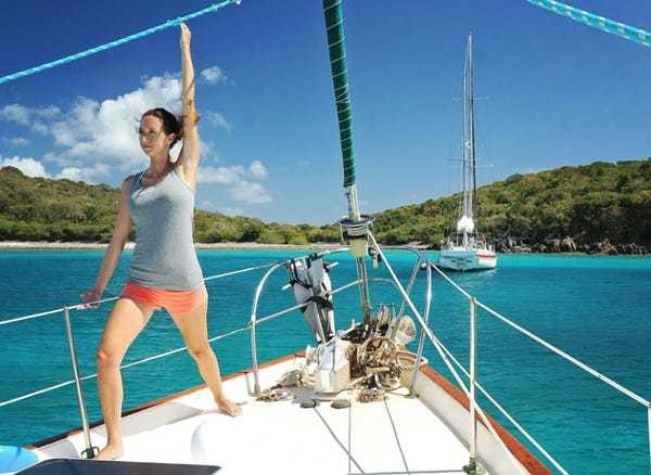 This couple sold all their possessions to fund a sailboat journey around the world - Business Insider