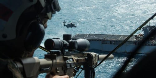 Here's how America's top snipers take the fight to the air, firing from helicopters with deadly accuracy