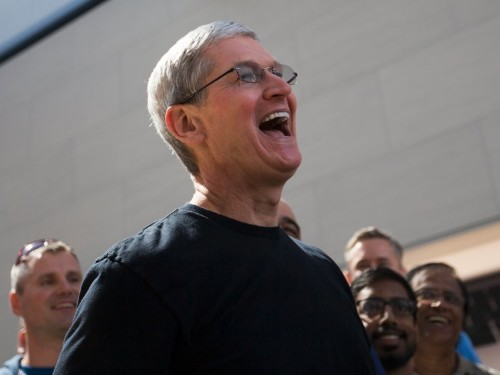 Apple is at an all-time high