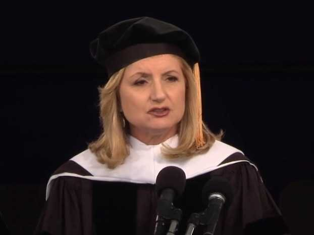 ARIANNA HUFFINGTON: Graduates Need To Redefine The Meaning Of Success