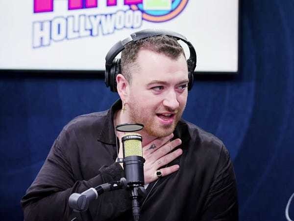 Watch Sam Smith swoon over their 'celeb crush' Shia LaBeouf: 'He's so fit' - Business Insider