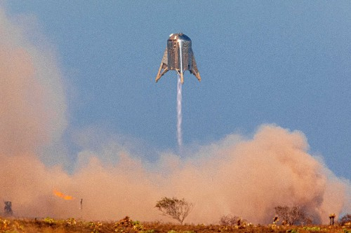 SpaceX aborts Starhopper rocket launch in South Texas