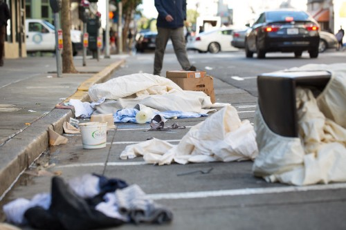 San Francisco's downtown area is more contaminated with drug needles, garbage, and feces than some of the world's poorest slums