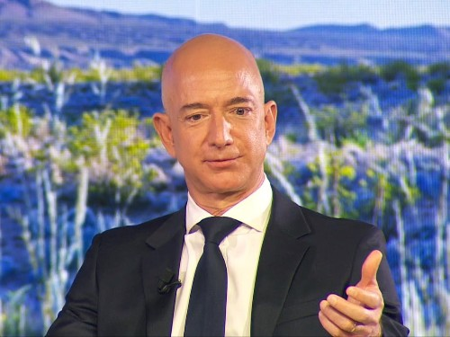 Amazon CEO Jeff Bezos on government regulating big tech companies