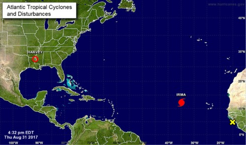 Irma will become a 'major' hurricane early next week