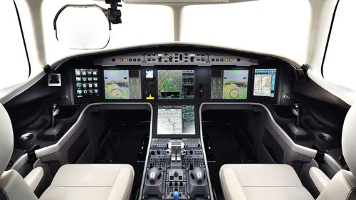 Tour The $45 Million Falcon 5X Private Jet, Featuring A Skylight
