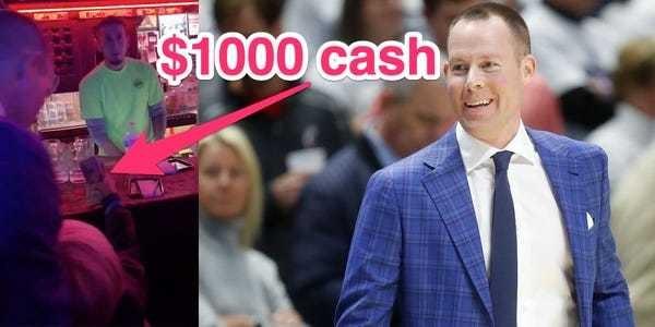 VIDEO: Xavier head coach pays fans' $1000 bar tab post rivalry win - Business Insider